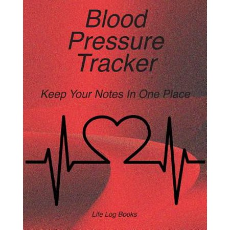 Blood Pressure Tracker : Blood Pressure Log. 52 Week Journal to Track Daily Blood Pressure, Time, and Pulse. Portable 8
