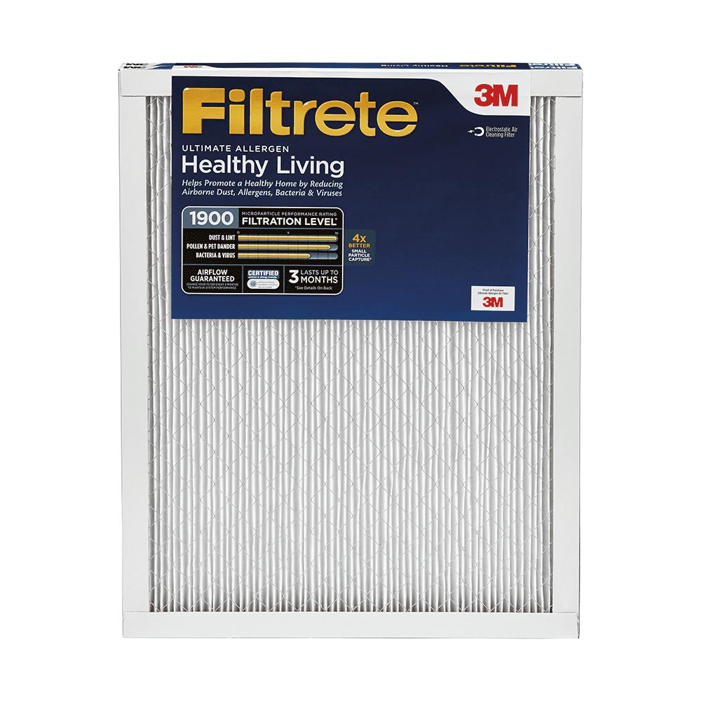 20x24x1 Filtrete 1900 Ultimate Allergen Filter by 3M