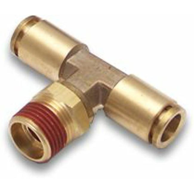 Helix Suspension Brakes and Steering 12180 .25 in. NPT Male to .25 in. Push Tube Air Fitting - image 1 of 1