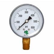 Zenport DPG600 0-600 Psi Dry Air Pressure Gauge