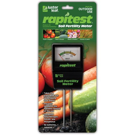 1865 Soil Fertility Meter, Luster Leaf Products, EACH, EA, Product  specifically
