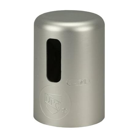 DANCO Kitchen Sink Deck Dishwasher Air Gap Cap, Brushed Nickel, 1-Pack (10567) ()