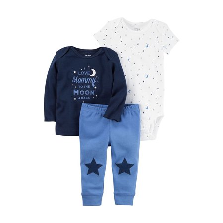 Carters Baby Boys 3-Piece Little Character Set To the Moon and Back Blue - Carters Baby Halloween
