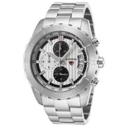 1000-02S Primo Chronograph Stainless Steel Silver-Tone Dial Watch