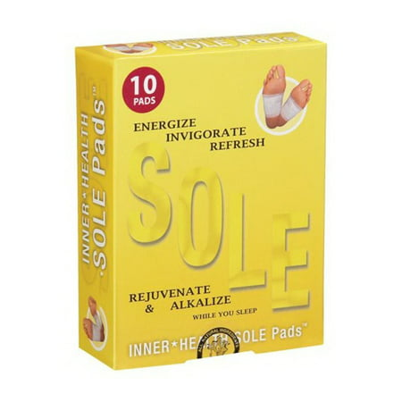Inner Health Sole Pads Detox, 10 Ct