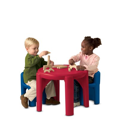 Table & Chairs Set-Primary Colors
