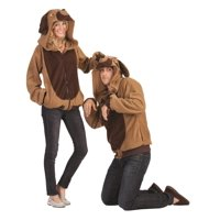 RG Costumes 40809-L Devin Dog Hoodie Costume for Adult - Large