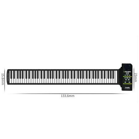 Roll Up Piano Folding Portable Keyboard | 88Keys | Music Gifts for Women Men Girl Boys Kids | Educational Toys Gift Set | Digital Beginner Piano - image 6 of 9