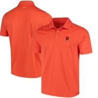 San Francisco Giants CBUK by Cutter & Buck DryTec Fairwood Polo - Orange
