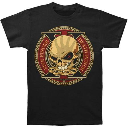 Five Finger Death Punch Men's  Trouble Decade Of Destruction T-shirt -