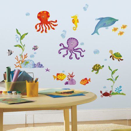 Under The Sea Quotes (Wallhogs Under the Sea Cutout Wall)