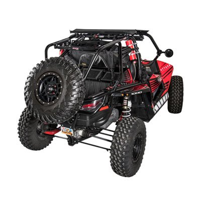 Miraculous Utv Rear Bumper Cargo Rack And Spare Tire Carrier For Arctic Cat Wildcat X 1000 2013 2017 Caraccident5 Cool Chair Designs And Ideas Caraccident5Info