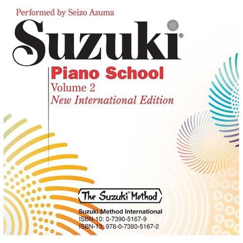 Alfred 00-30033 Suzuki Piano School New International Edition CD- Volume 2 - Music Book