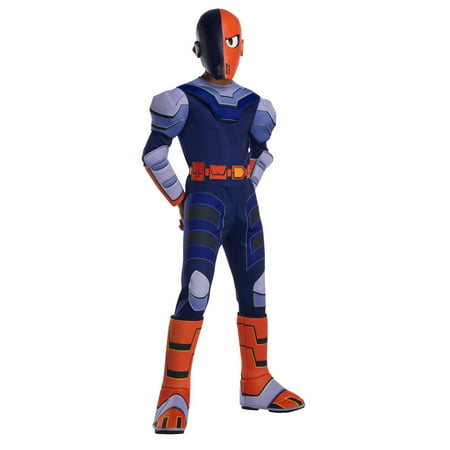 Teen Titans Go Movie Boys Deluxe Slade Costume](Funny Teen Boy Costumes)