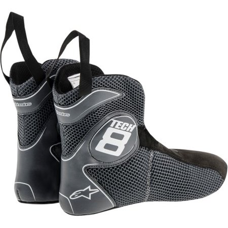 Alpinestars Tech 8 Replacement Bootie 2015 Black Alpinestars Touring Boot