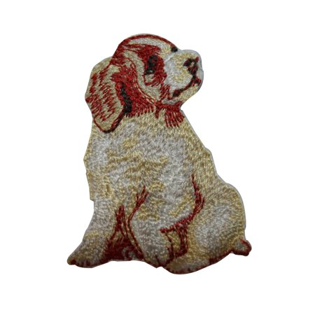 ID 3618 Golden Retriever Puppy Patch Baby Dog Embroidered Iron On Applique