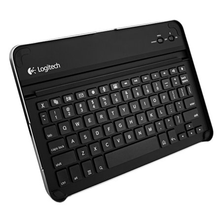 Logitech Wireless Bluetooth Keyboard Case for Samsung Galaxy Tab 10.1 (Black) Certified (Certified