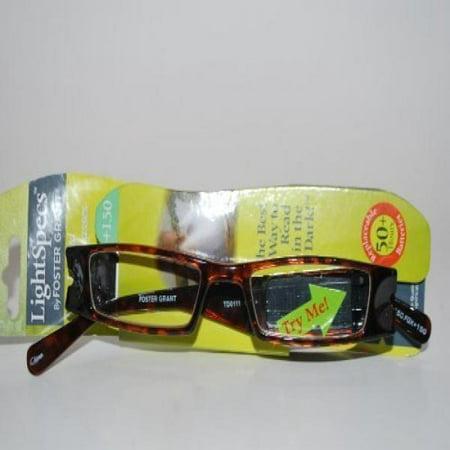 Light Specs By Foster Grant 1.50 Tortoise Reading (Light Specs Glasses)