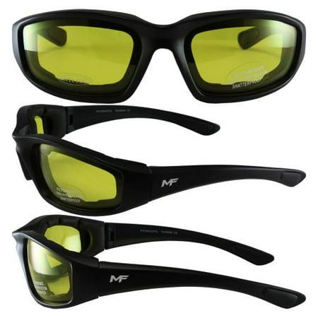 MF Payback Sunglasses (Black Frame/Yellow Lens) ()