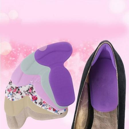 Spur Heel Cradle (2 pair Gel Heel Shoe Insoles Support Pad for Pain Relief from Heel Spurs Bruising )