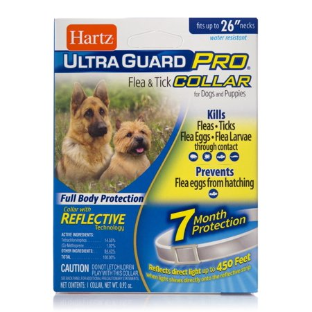 Dog 12 Month Supply (Hartz UltraGuard Pro Flea and Tick Prevention Collar for Dogs, 7 Month Collar)