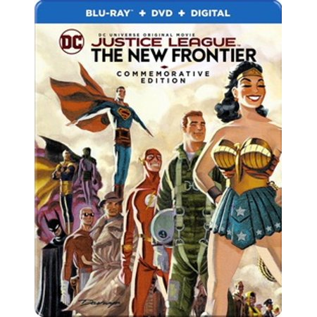 Justice League: The New Frontier (Blu-ray)](Krampus The League)