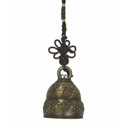 Bell Charm with Auspicious Image - image 1 of 1