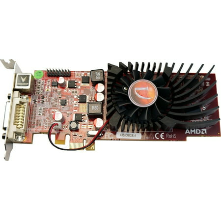 - Visiontek 900308 Radeon HD 4350 512MB DDR2 PCIe 2.0 x1 Low-Profile Graphic Card
