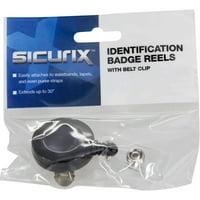 Baumgartens Sicurix - Clip ID Card Reel, 30''