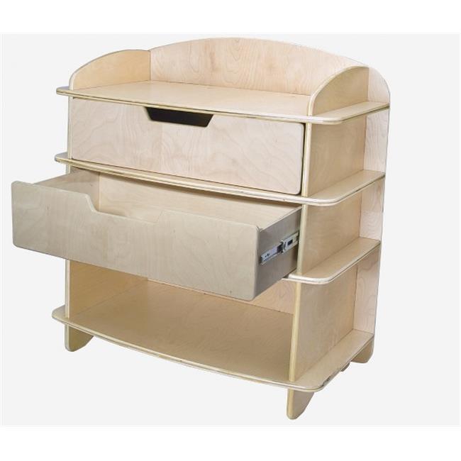 Sodura Aods Nt Blonde Aero Dresser Changing Table Walmart Com Walmart Com