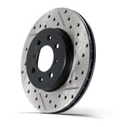 StopTech 127.34073L StopTech Sport Rotors; Drilled And Slotted; Front Left;12.20 in. Dia.; 3.04 in. Height;