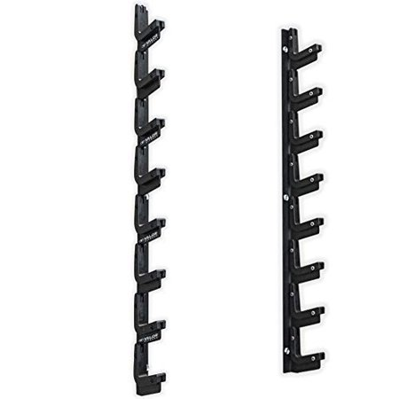Valor Fitness BH-20 PRO 8-Bar Wall Mount Rack for Olympic Barbell Storage (Olympic Bar Storage)