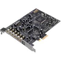 Sound Blaster Audigy RX - 24 bit DAC Data Width - 7.1, 5.1 Sound Channels - Internal - Creative E-MU - PCI Express - 106 dB - 2 x Number of Microphone Ports - 1 x Number of Audio Line In - 3 x Number