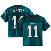 Product Image Youth Carson Wentz Midnight Green Philadelphia Eagles Team  Color Jersey e98b55fb2