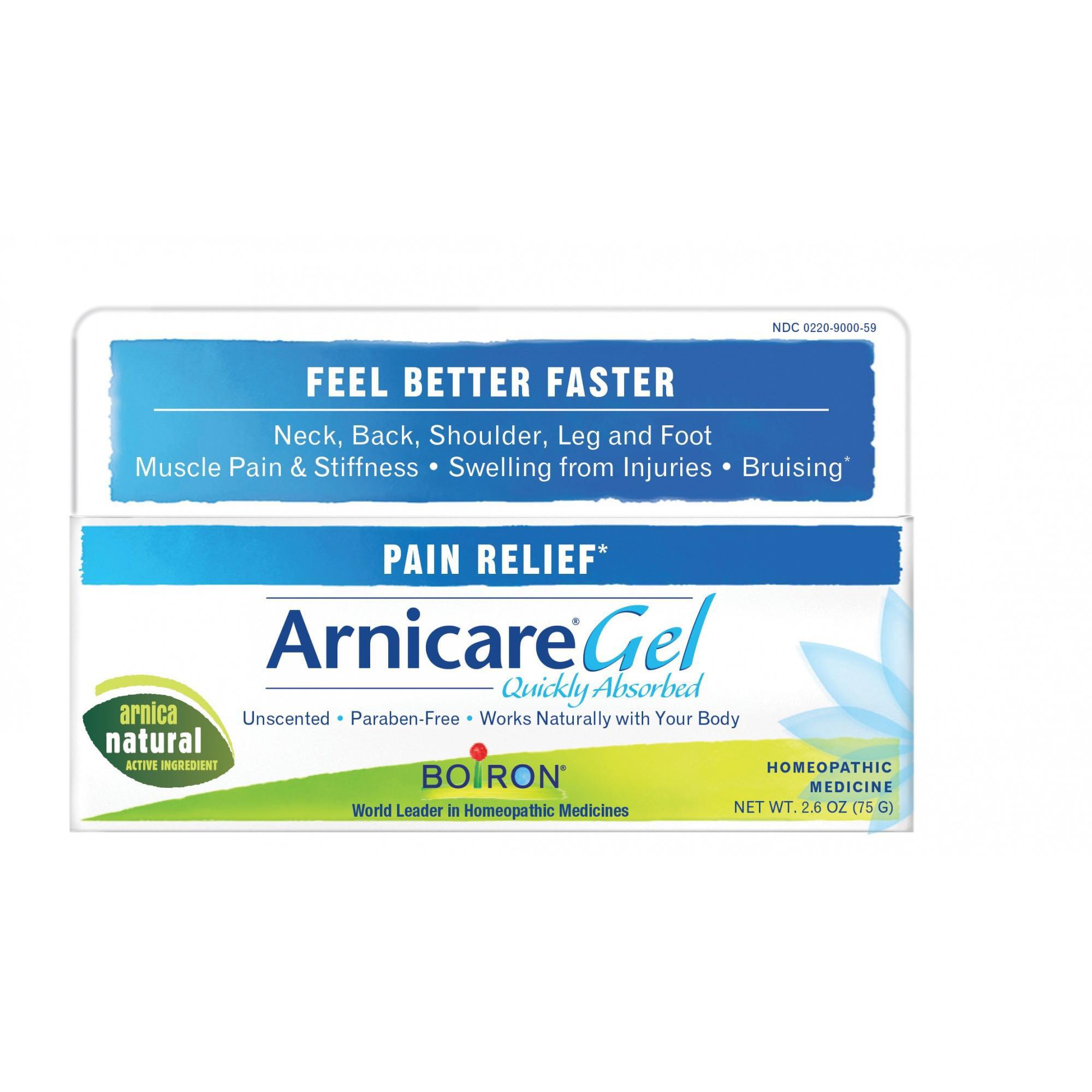 Boiron Arnicare Arnica Gel Homeopathic Medicine, 2.6 oz