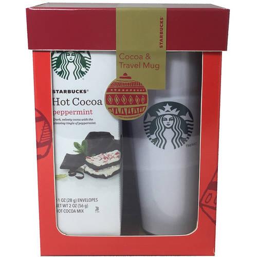 Starbucks Cocoa Travel Mug Set