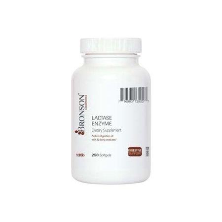 Bronson lactase, enzyme 250 Gélules