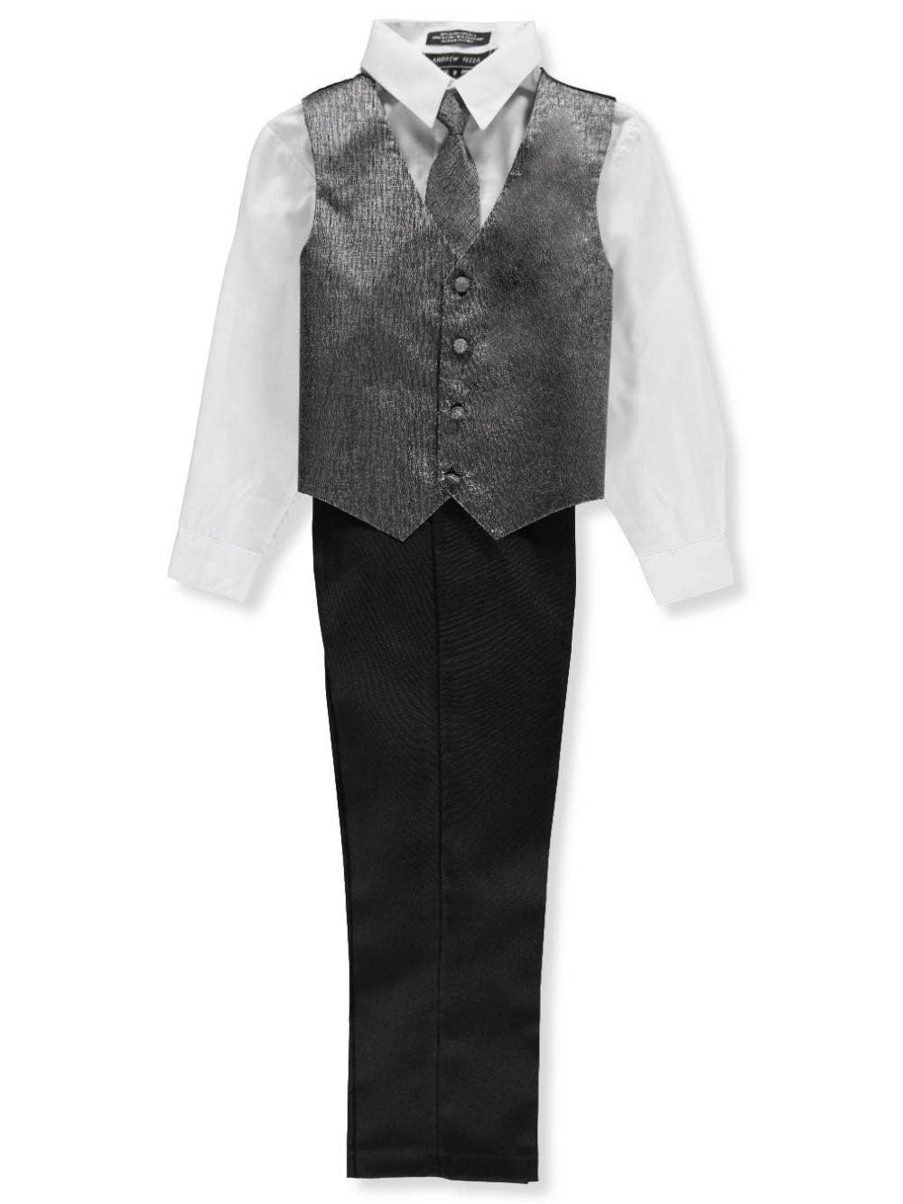 Andrew Fezza Boys' 4-Piece Vest Set