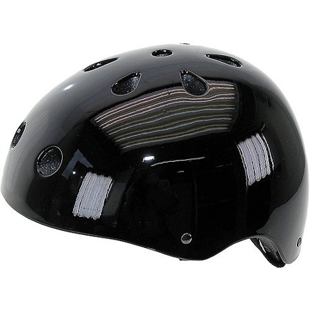 Gloss Black Freestyle Helmet M (54-58 cm)