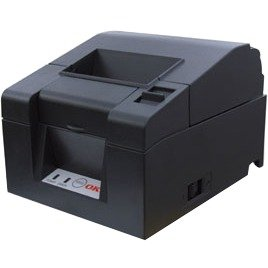 OKI 92308101 Oki PT-341 Direct Thermal Printer - Monochrome - Desktop - Receipt Print - 11.81 in/s Mono - 203 dpi - 384 KB - USB - Serial - Ethernet - Receipt, Ticket, Coupon - 3.27