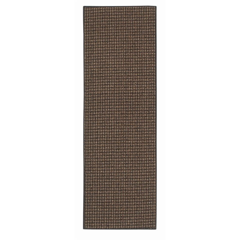 "MOHAWK Home San Juan 1'8"" x 5' Runner Rug in Black"
