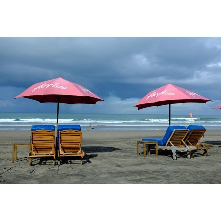 LAMINATED POSTER Lifestyle Holiday Resort Beach Bali Poster Print 24 x 36