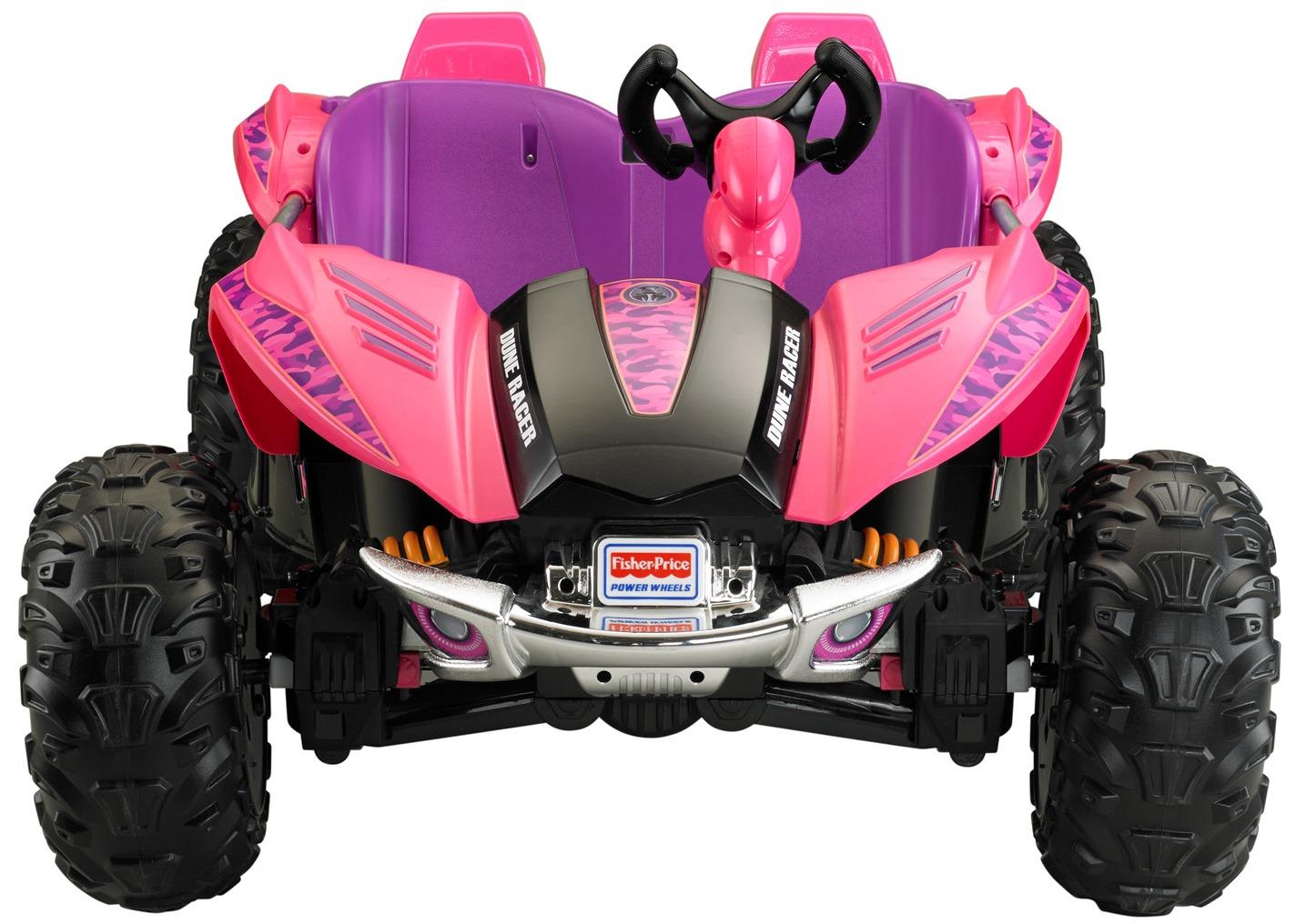 Power Wheels Dune Racer 12 Volt Battery Powered Ride On, Pink   Walmart.com