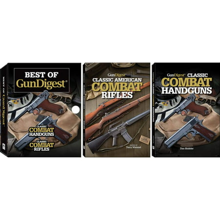 Best of Gun Digest: (2-Book) Box Set : Classic Combat Handguns, Classic Combat (Best Guns To Have For Survival)