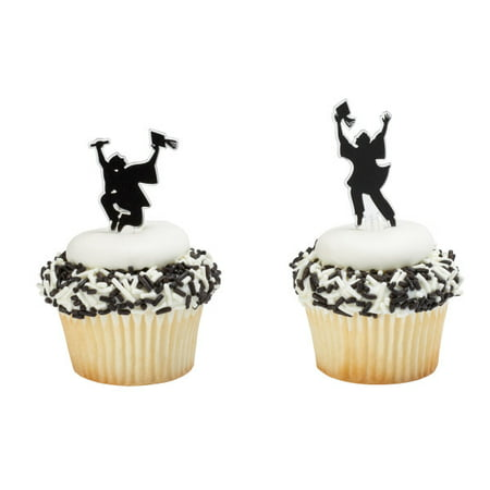 Achieve Your Dream Graduation Cupcake Picks - 24 Picks