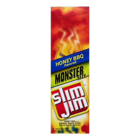 Upc 026200140414 Slim Jim Monster Smoked Snacks Honey