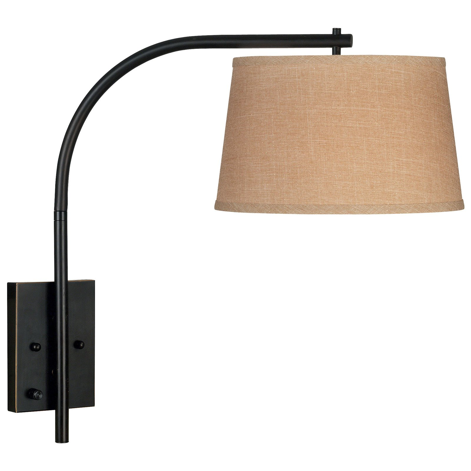 Kenroy Home Sweep Wall Swing Arm Lamp 23H in. Oil Rubbed Bronze by Kenroy Home