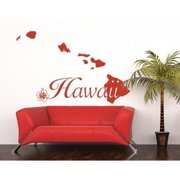 Style and Apply Hawaii Wall Decal