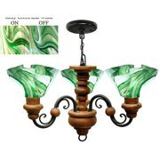 Jezebel Gallery Radiance 3 Light Floral Vineyard Chandelier