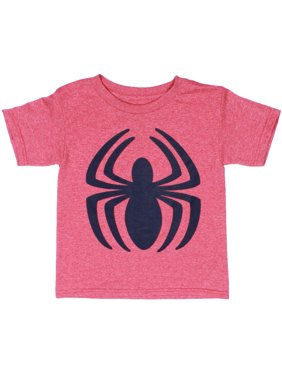 570a3801d4a21 Product Image Marvel Native Captain America Spiderman Moisture Wicking  Short Sleeve T-Shirt